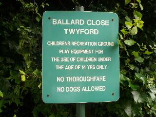 Ballard Sign